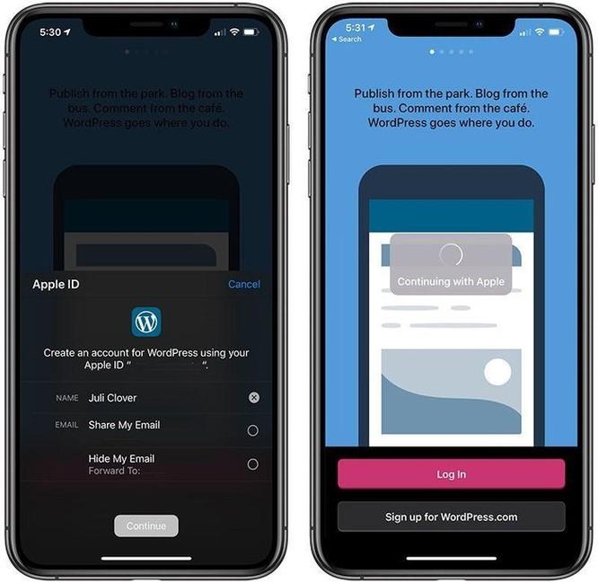 Mọi điều cần biết về dịch vụ đăng nhập 'Sign in with Apple' ảnh 2