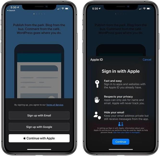Mọi điều cần biết về dịch vụ đăng nhập 'Sign in with Apple' ảnh 1