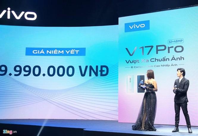 Vivo V17 Pro ra mắt - camera selfie kép trượt, giá 10 triệu đồng ảnh 9