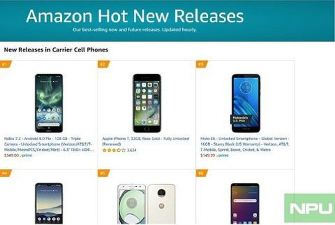 Nokia 7.2 lọt top bán chạy trong danh sách các sản phẩm mới trên Amazon ảnh 2
