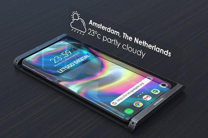 Samsung Galaxy S11 lộ diện thiết kế qua bằng sáng chế mới ảnh 2