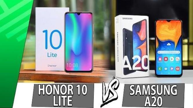 Galaxy A20 có đáng chọn hơn Honor 10 Lite? ảnh 1