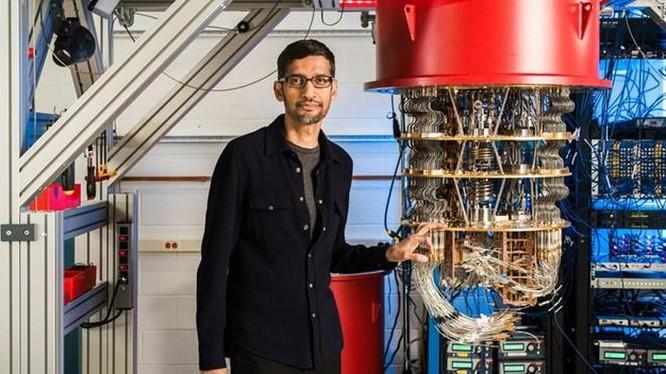 Google có máy tính lượng tử giải phép tính 10.000 năm trong 200 giây ảnh 1
