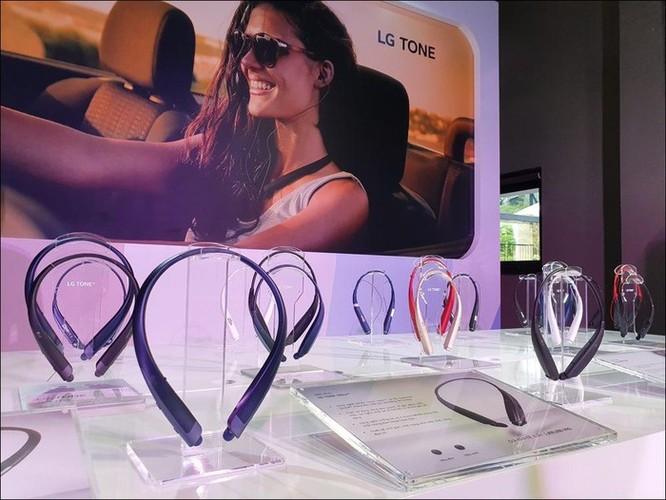 LG ra mắt loạt tai nghe Bluetooth LG Tone, giá chỉ từ 899 ngàn đồng ảnh 1
