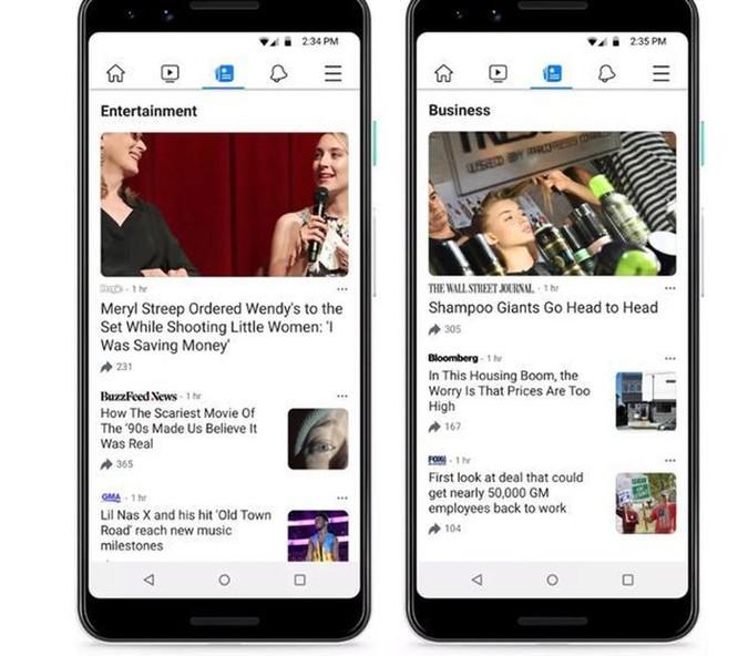 Facebook ra mắt dịch vụ Facebook News cung cấp tin tức cá nhân hóa ảnh 2