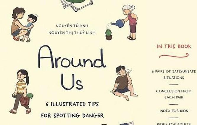 Họa hình nguy hiểm giúp trẻ em biết cách phòng tránh ảnh 1
