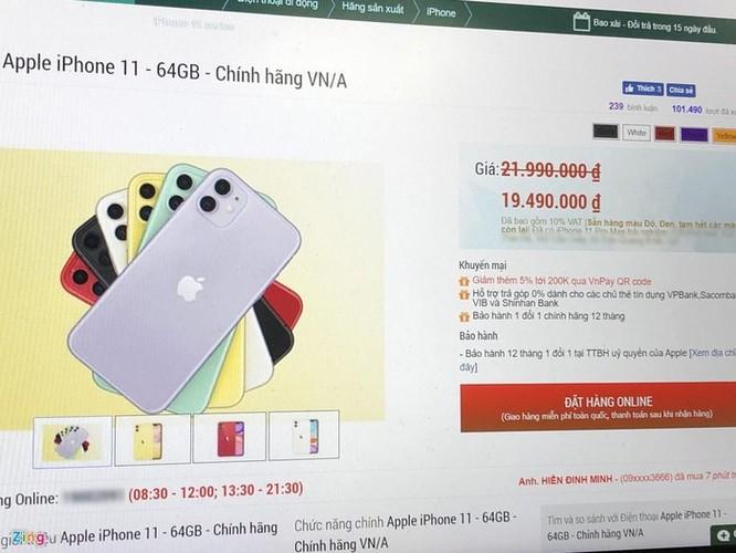 Apple thả cửa cho đại lý giảm giá iPhone 11, diệt máy xách tay ảnh 2