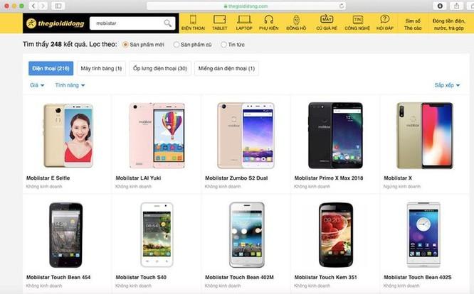 Điện thoại Mobiistar biến mất khỏi các chuỗi cửa hàng lớn ảnh 1