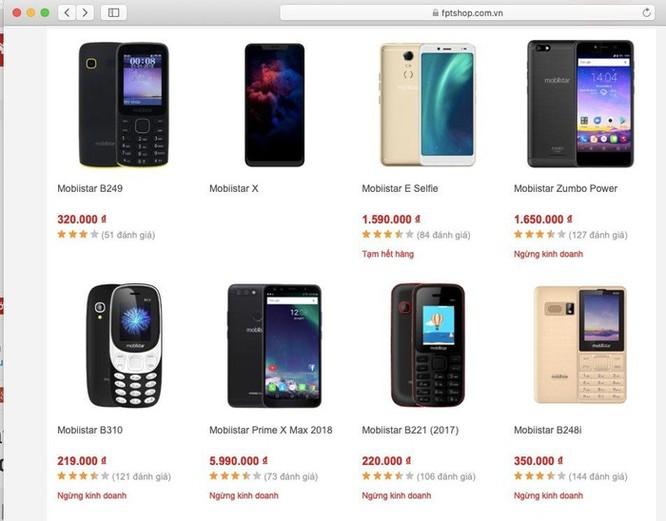 Điện thoại Mobiistar biến mất khỏi các chuỗi cửa hàng lớn ảnh 2