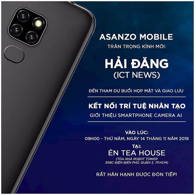 Asanzo trở lại sau 'bão', sắp ra mắt smartphone 3 camera giá rẻ ảnh 1