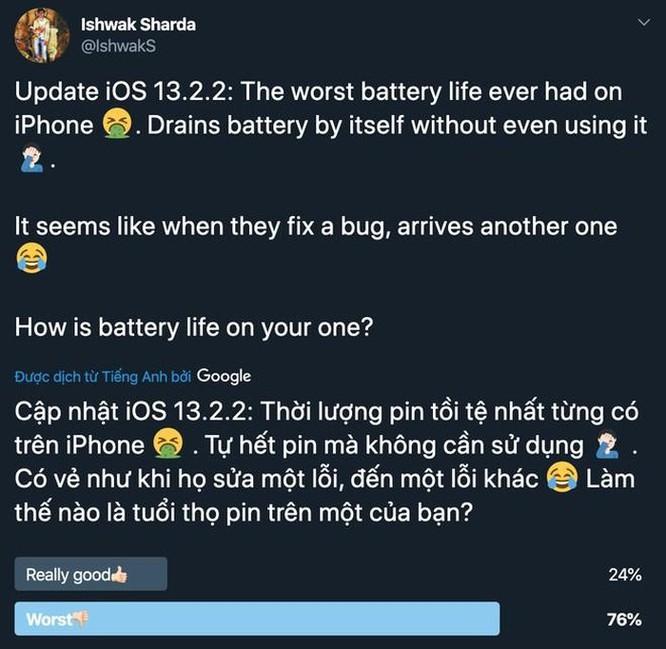 Đến khi nào iOS 13 mới hết lỗi? ảnh 2