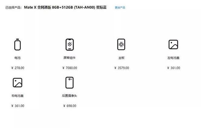Chi phí sửa màn hình Huawei Mate X ngang 1 chiếc iPhone 11 Pro ảnh 2