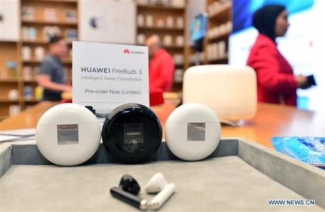 Huawei trình làng tai nghe không dây FreeBuds 3 chủ động ngăn tiếng ồn ảnh 1