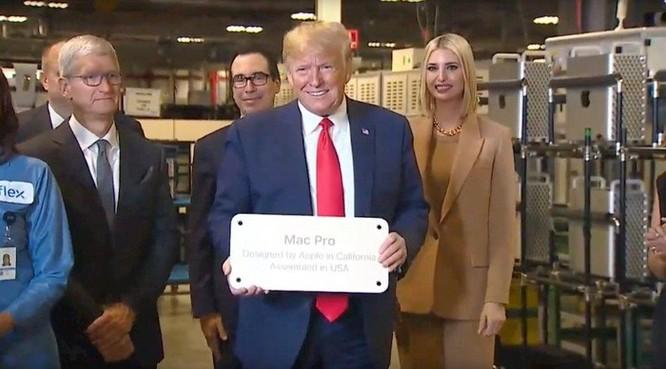 Tổng thống Trump muốn Apple phát triển 5G nhưng đó là điều bất khả thi ảnh 1