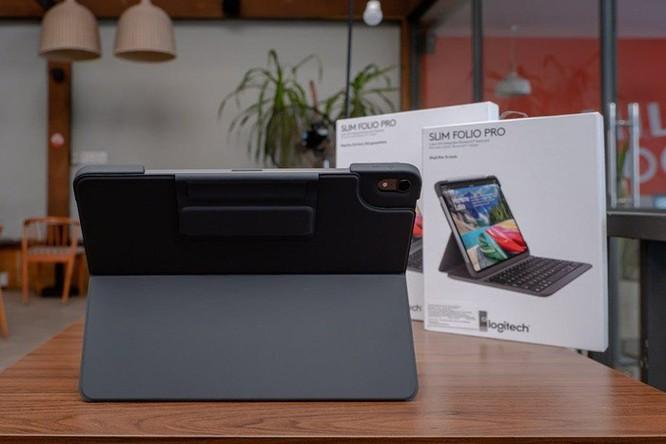 Logitech giới thiệu bàn phím Slim Folio Pro cho iPad, giá bán từ 2,99 triệu đồng ảnh 5