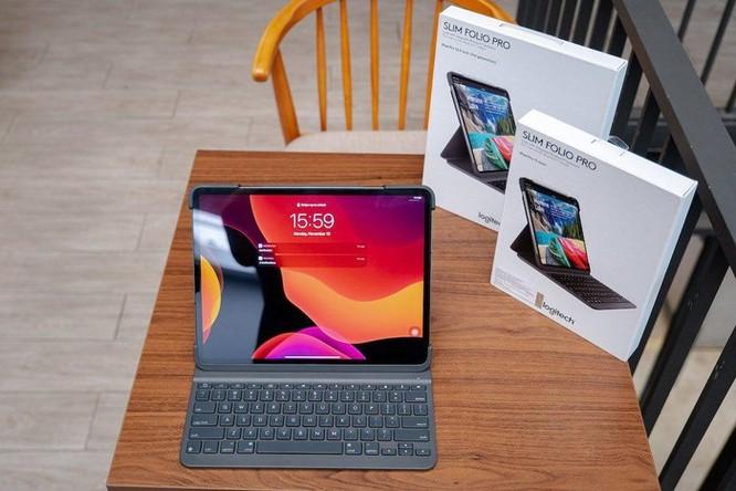 Logitech giới thiệu bàn phím Slim Folio Pro cho iPad, giá bán từ 2,99 triệu đồng ảnh 2