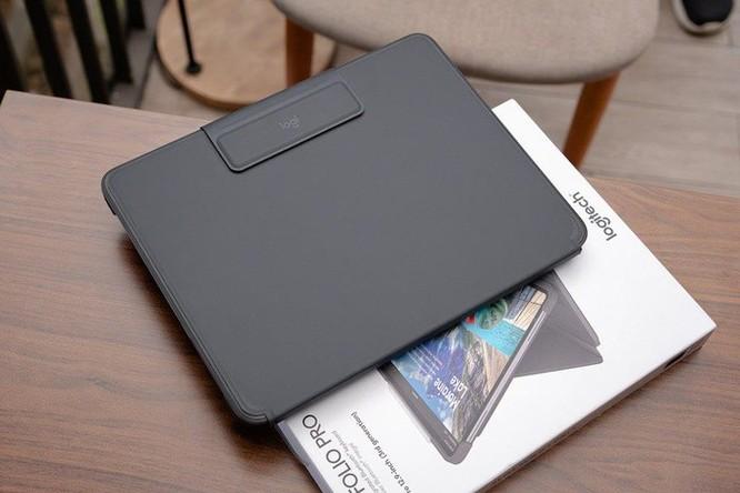 Logitech giới thiệu bàn phím Slim Folio Pro cho iPad, giá bán từ 2,99 triệu đồng ảnh 6