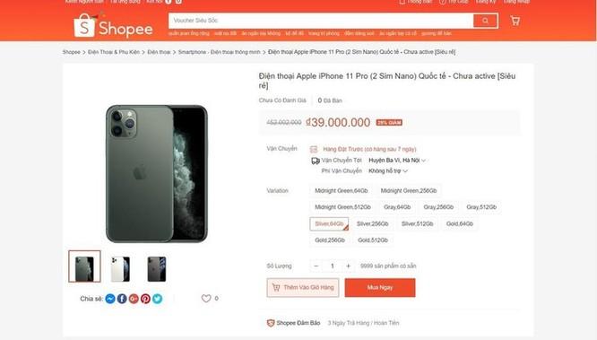 iPhone 11 giảm giá 10 triệu đồng ở VN là trò bịp Black Friday ảnh 3