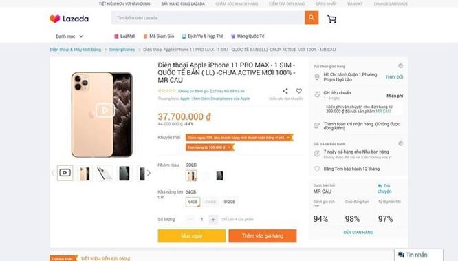 iPhone 11 giảm giá 10 triệu đồng ở VN là trò bịp Black Friday ảnh 1