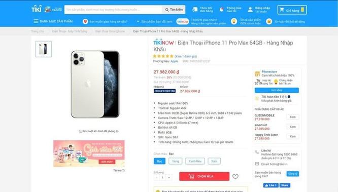 iPhone 11 giảm giá 10 triệu đồng ở VN là trò bịp Black Friday ảnh 4
