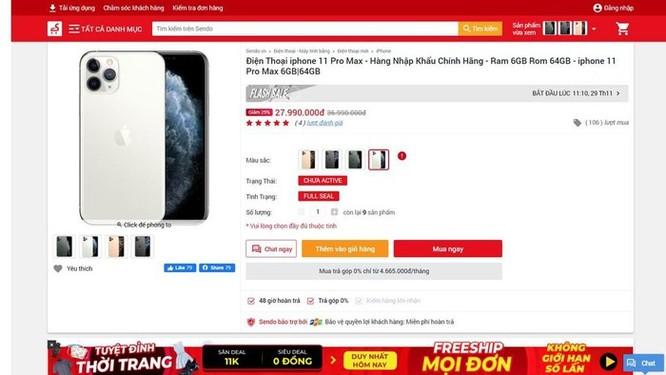 iPhone 11 giảm giá 10 triệu đồng ở VN là trò bịp Black Friday ảnh 2