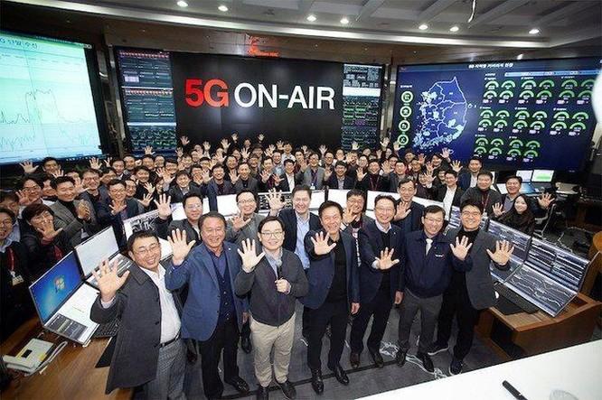 Hàn Quốc đạt 4 triệu thuê bao 5G sau 8 tháng triển khai ảnh 1