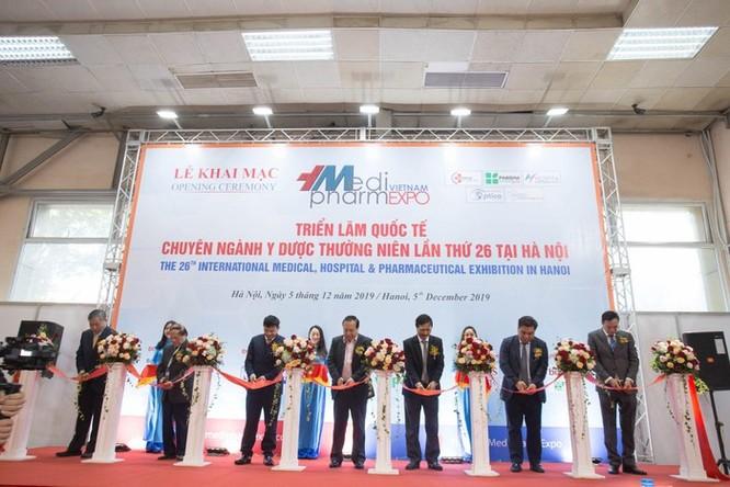 Các doanh nghiệp chuyên ngành Y dược uy tín trong và ngoài nước quy tụ tại Hà Nội ảnh 1