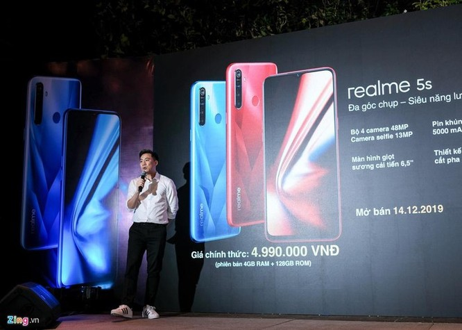 Realme 5S về Việt Nam - 4 camera sau, pin lớn, giá 5 triệu đồng ảnh 9