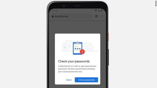 Chrome tự động thông báo nếu mật khẩu của bạn không an toàn ảnh 1