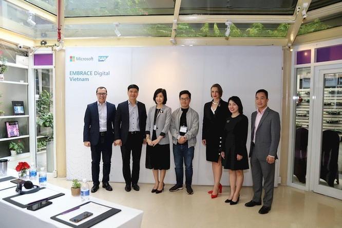 Microsoft bắt tay SAP ra mắt giải pháp Embrace, đơn giản hành trình chuyển đổi số cho doanh nghiệp Việt ảnh 2