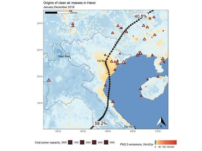 Vì sao ô nhiễm Hà Nội thường nặng nhất vào những ngày có gió đông? ảnh 3
