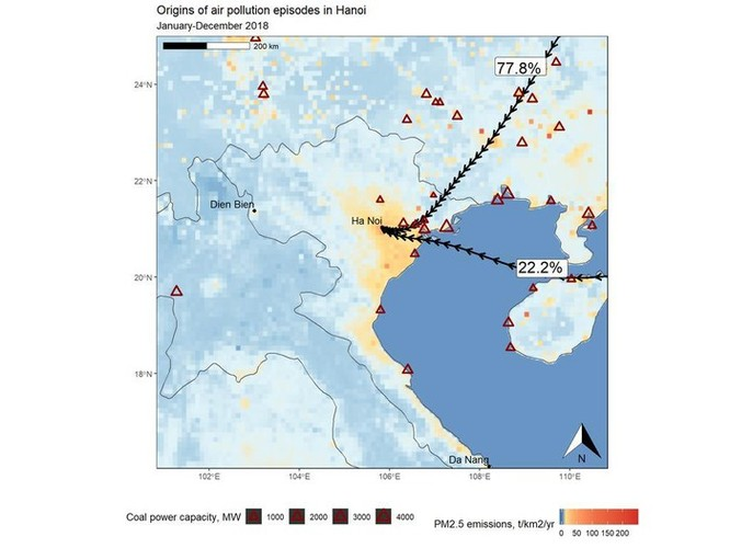 Vì sao ô nhiễm Hà Nội thường nặng nhất vào những ngày có gió đông? ảnh 2