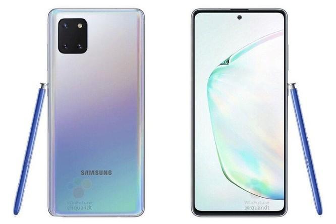 Galaxy Note 10 Lite lộ ảnh báo chí: Kết hợp hoàn hảo giữa Note 10 và S11 ảnh 2