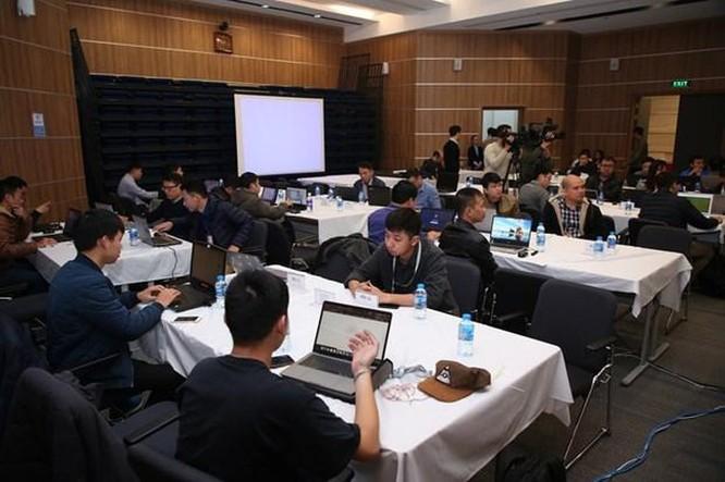 VNCERT diễn tập phòng chống hacker tấn công vào cổng thông tin điện tử ảnh 1