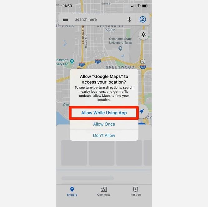 Hướng dẫn chia sẻ vị trí trên Google Maps ảnh 1