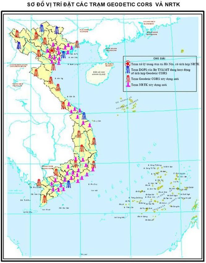 Chính thức đưa vào hoạt động mạng lưới trạm định vị vệ tinh quốc gia ảnh 2