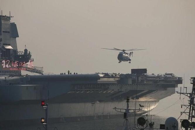 'Cá mập bay' và các loại khí tài trên hạm của tàu sân bay Sơn Đông ảnh 2