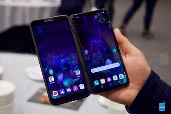 LG sẽ ra mắt mẫu điện thoại V60 ThinQ màn hình kép tại MWC 2020 ảnh 1