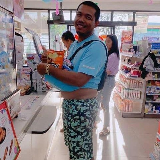 Mang vali, chậu, xe kéo đi mua hàng vì túi nylon bị cấm ở Thái Lan ảnh 9