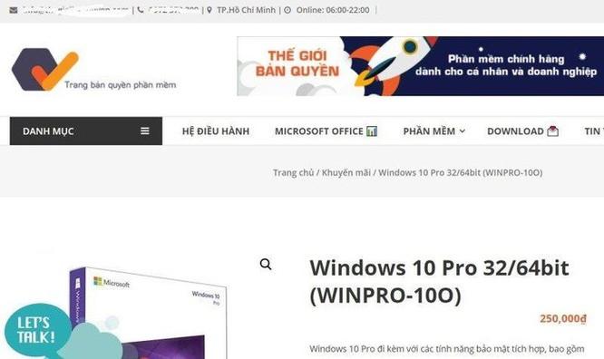 Cách nhận biết phần mềm Microsoft giả mạo, hàng nhái ảnh 4