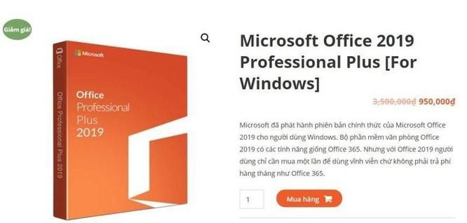 Cách nhận biết phần mềm Microsoft giả mạo, hàng nhái ảnh 5
