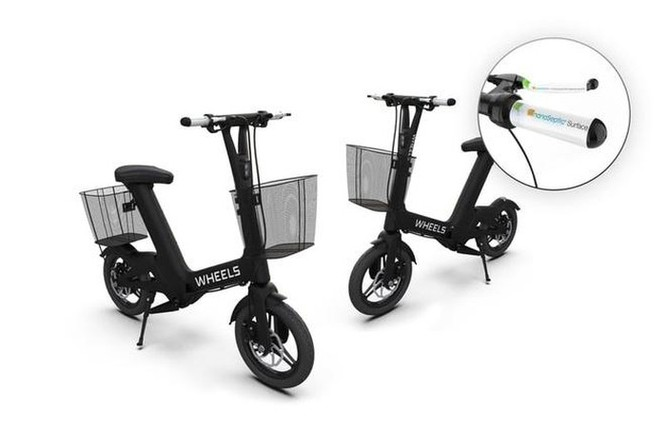 Chiếc xe đạp điện có khả năng tự động diệt khuẩn ảnh 1