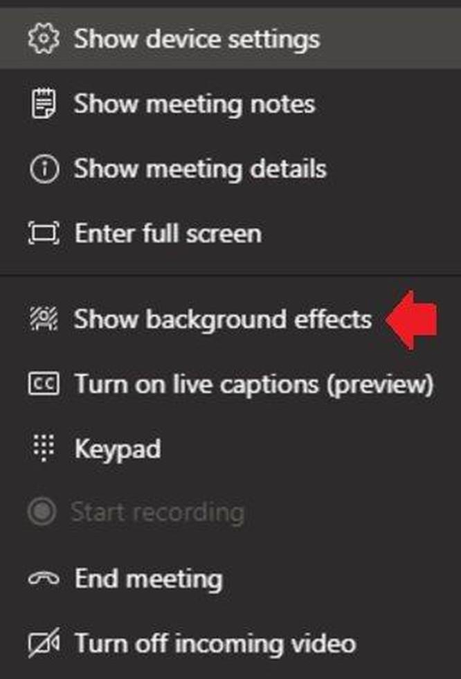Hướng dẫn sử dụng Microsoft Teams: Cách thay phông nền phía sau ảnh 2