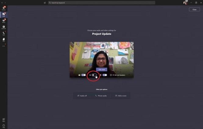 Hướng dẫn sử dụng Microsoft Teams: Cách thay phông nền phía sau ảnh 3