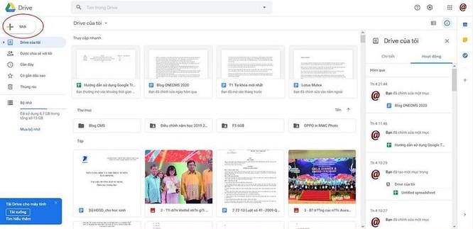 Hướng dẫn chia sẻ file Excel trên Google Drive ảnh 1