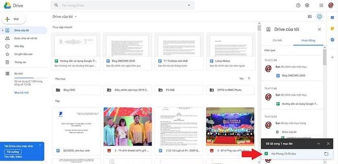 Hướng dẫn chia sẻ file Excel trên Google Drive ảnh 3