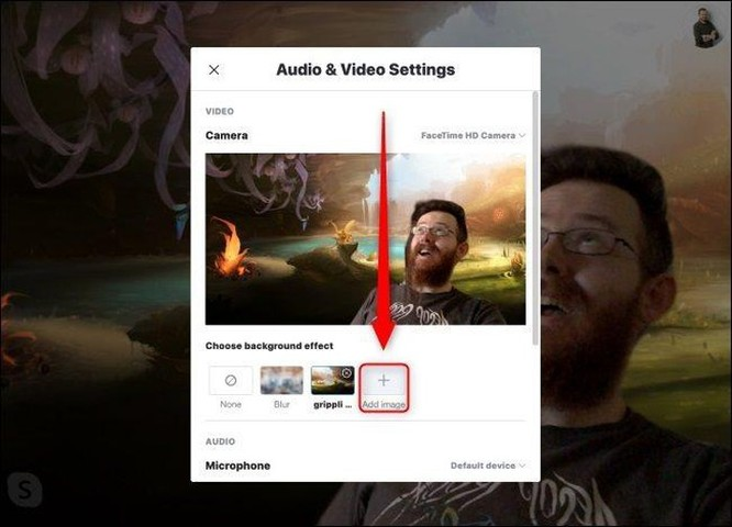 Hướng dẫn sử dụng Skype mới nhất: Tùy chọn phông nền ảnh 1
