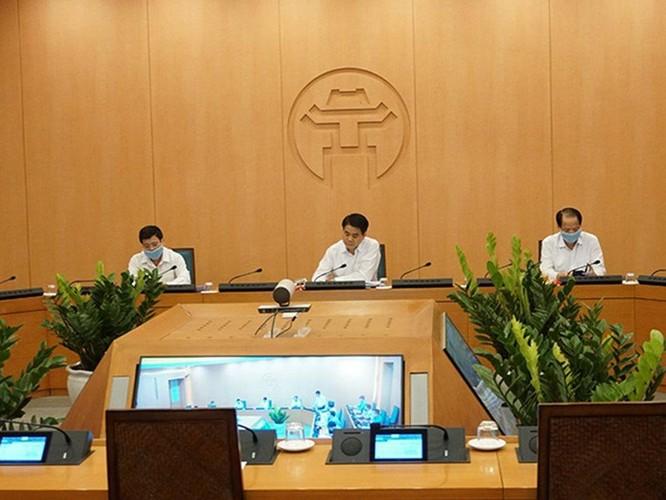 90% các cuộc họp diện rộng của Hà Nội sẽ được thực hiện trực tuyến ảnh 1