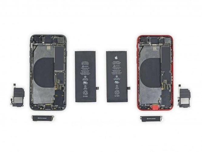 Mổ bụng iPhone SE 2020, phát hiện nhiều linh kiện iPhone đời cũ ảnh 1