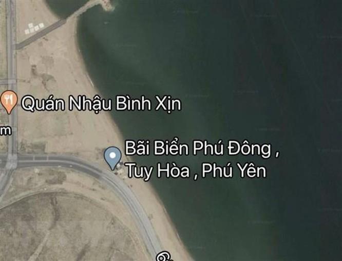 Google Maps đã gỡ bỏ thông tin sai sự thật về bãi biển Phú Lâm ảnh 2